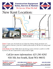 CESSCO Kent new location flyer
