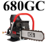 680GC Gasoline ICS Concrete Chainsaw