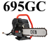 695GC Gasoline ICS Concrete Chainsaw